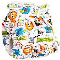 Купить GlorYes! Многоразовый подгузник для приучения к горшку Сафари 3-18 кг + два вкладыша, Подгузники и пеленки