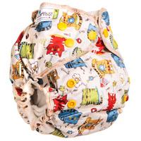 Купить GlorYes! Многоразовый подгузник для приучения к горшку Котята 3-18 кг + два вкладыша, Подгузники и пеленки