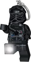 Купить LEGO Брелок-фонарик для ключей Star Wars Пилот истребителя TIE (Первый орден), IQ Hong Kong Limited, Развлекательные игрушки