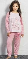 Купить Комплект домашний для девочек Vienetta's Secret Мишка, цвет: розовый. 705165 0000. Размер 98/110, Одежда для девочек