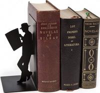 Купить Balvi Держатель для книг The Reader цвет черный, Подставки для учебников