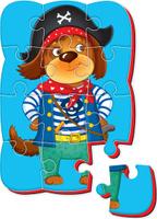 Купить Roter Kafer Пазлы на магните Собака Уцененный товар (№2), Обучение и развитие