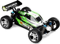Купить Wltoys Машина радиоуправляемая A959-A цвет серо-зеленый, Машинки