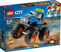 Купить LEGO City Great Vehicles Конструктор Монстр-трак 60180, Конструкторы