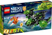Купить LEGO NEXO KNIGHTS Конструктор Неистовый бомбардировщик 72003, Конструкторы