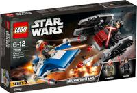 Купить LEGO Star Wars Конструктор Истребитель типа A против бесшумного истребителя СИД 75196, Конструкторы
