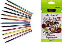Купить Schreiber Набор карандашей Совы 12 цветов S 0014-12, Карандаши