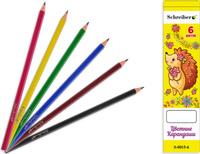Купить Schreiber Набор карандашей 6 цветов, Карандаши