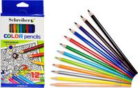 Купить Schreiber Набор карандашей 12 цветов, Карандаши