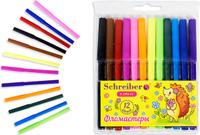 Купить Schreiber Набор фломастеров Милый ежик 12 цветов, Фломастеры