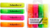 Купить Schreiber Набор маркеров 4 цвета, Маркеры