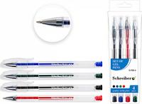 Купить Schreiber Набор гелевых ручек 4 цвета S-706-4, Ручки