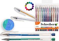 Купить Schreiber Набор гелевых ручек Металлик 12 цветов, Ручки