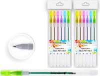Купить Schreiber Набор гелевых ручек с блестками 6 цветов, Ручки
