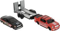 Купить Maisto Набор машинок 2007 Cadillac Escalade EXT / 2006 Cadillac STS-V цвет красный черный, Машинки