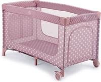 Купить Happy Baby Манеж-кровать Martin Pink цвет розовый белый, Манежи