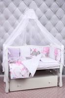 Купить Amarobaby Комплект белья для новорожденных Нежность цвет розовый 18 предметов, Постельное белье