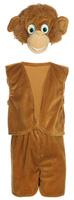 Купить Карнавалия Карнавальный костюм для мальчика Обезьянка цвет коричневый размер 32 89039, Карнавальные костюмы и аксессуары