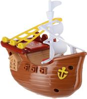 Купить Bampi Заводная игрушка Вместе веселей Пиратский корабль цвет коричневый, Развлекательные игрушки