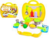 Купить ABtoys Игровой набор Чудо-чемоданчик Кухня 21 предмет, Сюжетно-ролевые игрушки