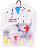 Купить ABtoys Набор доктора Важная работа 10 предметов, Сюжетно-ролевые игрушки
