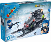 Купить BanBao Пластиковый конструктор Снегоход инерционный 168 деталей, Конструкторы