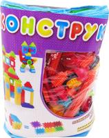 Купить KidBlock Пластиковый конструктор Кид Блок со щетинками 150 деталей, AB Toys, Конструкторы