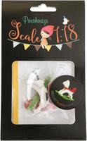 Купить Набор для изготовления миниатюры Pocohouse Лошадка-качалка . 1182032, Игрушки своими руками