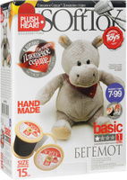 Купить Набор для создания мягкой игрушки Plush Heart Бегемот , Эльф Маркет, Игрушки своими руками