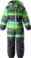 Купить Комбинезон утепленный детский Lassie, цвет: зеленый. 720723R8272. Размер 104, Одежда для девочек