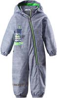 Купить Комбинезон утепленный детский Lassie, цвет: серый. 710723R9121. Размер 92, Одежда для девочек
