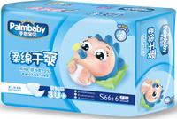 Купить Palmbaby Подгузники детские S 3-7 кг 72 шт, Подгузники и пеленки