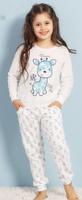 Купить Домашний комплект для девочки Vienetta's Secret, цвет: молочный. 706083 3001. Размер 134/140, Одежда для девочек