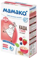 Купить МАМАКО Каша 7 злаков с ягодами на козьем молоке, 200 г, Мамако, Детское питание