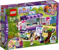 Купить LEGO Friends Конструктор Передвижная творческая мастерская Эммы 41332 Уцененный товар (№1), Конструкторы
