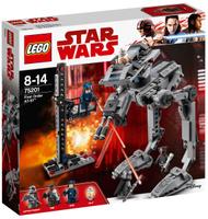 Купить LEGO Star Wars Конструктор Вездеход AT-ST Первого Ордена 75201, Конструкторы