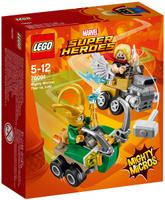 Купить LEGO Super Heroes Конструктор Mighty Micros Тор против Локи 76091 Уцененный товар (№2), Конструкторы