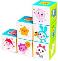 Купить Мякиши Кубики Малышарики Предметики, Развивающие игрушки