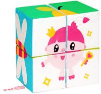Купить Мякиши Кубики Собери Малышарика Нюша, Развивающие игрушки