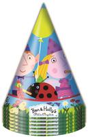 Купить Бен и Холли Набор колпаков 6 шт, Ben&Holly, Колпаки и шляпы