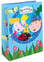 Купить Бен и Холли Пакет подарочный Бен и Холли 25x9x35 см, Ben&Holly, Аксессуары для детского праздника