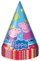 Купить Свинка Пеппа Набор колпаков Пеппа-принцесса 6 шт, Колпаки и шляпы