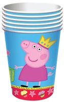 Купить Свинка Пеппа Набор стаканов Пеппа-принцесса 6 шт, Сервировка праздничного стола