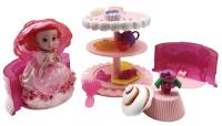 Купить Emco Игровой набор Cupcake Surprise Чайная вечеринка с куклой Капкейк и питомцем цвет розовый, Куклы и аксессуары