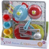 Купить Playgo Игровой набор Сушилка с посудой 23 предмета, Сюжетно-ролевые игрушки