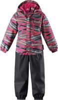 Купить Комбинезон детский Lassie Softshell, цвет: розовый. 7207214681. Размер 104, Одежда для девочек