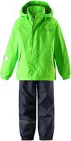 Купить Комплект одежды детский Lassie: куртка, брюки, цвет: зеленый. 7237218270. Размер 104, Одежда для девочек