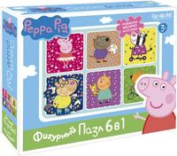 Купить Peppa Pig Пазл для малышей Хобби 6 в 1, Обучение и развитие