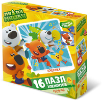 Купить Ми-ми-мишки Пазл для малышей Вечеринка, ООО Группа компаний Оригами , Обучение и развитие