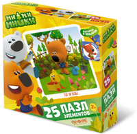 Купить Ми-ми-мишки Пазл для малышей По ягоды, ООО Группа компаний Оригами , Обучение и развитие